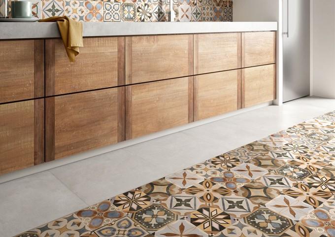 Santagostino: patchwork colors ceramiche sassuolo outlet