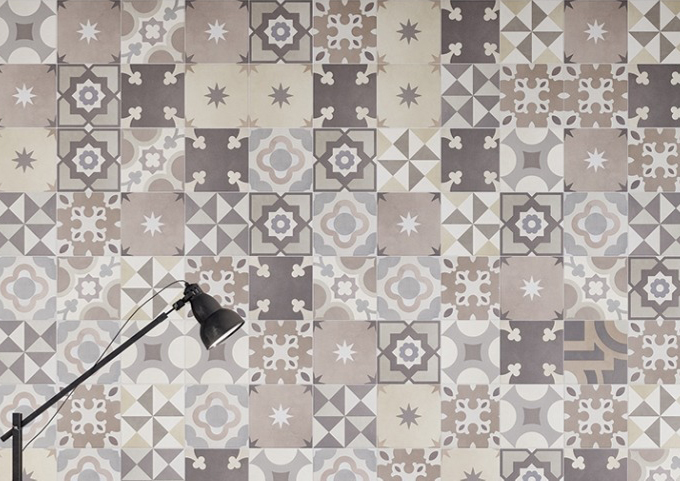 Stock offer cementine fantasy 25 25 rectified ceramiche - Piastrelle sassuolo outlet ...