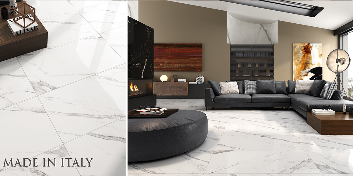 Superofferta effetto marmo ELITE calacatta extra 60×120 – PROD. ITALIANA